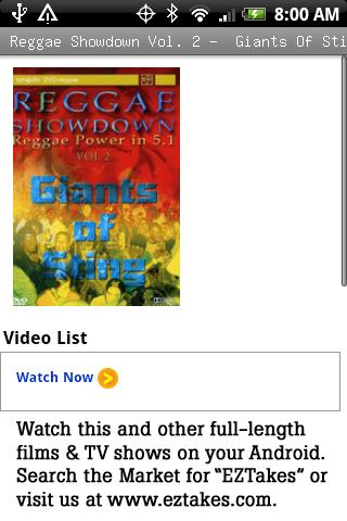 Reggae Showdown Vol. 2 Giants Android Entertainment