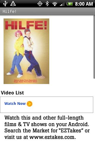 Hilfe! Movie Android Entertainment