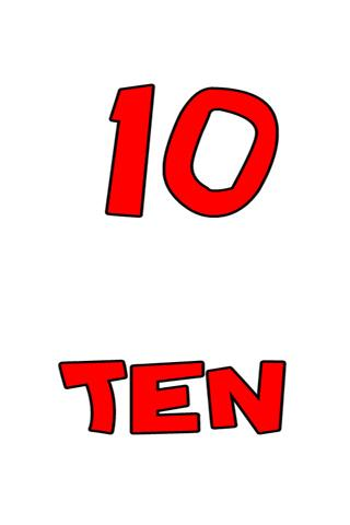 Numbers 1-10 Flashcards Android Entertainment
