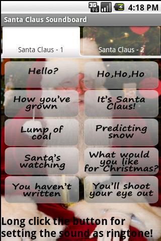 Santa Claus Soundboard Android Entertainment