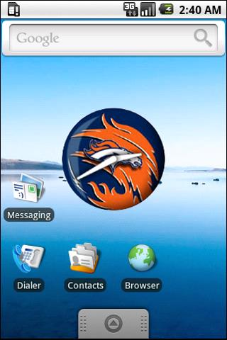Denver Broncos Clock Android Entertainment