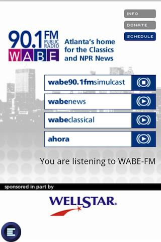 WABE 90.1 FM Android Entertainment