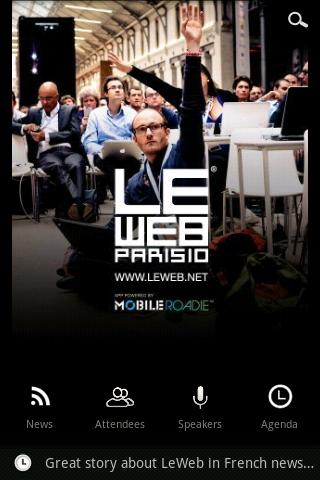 LeWeb Android Entertainment
