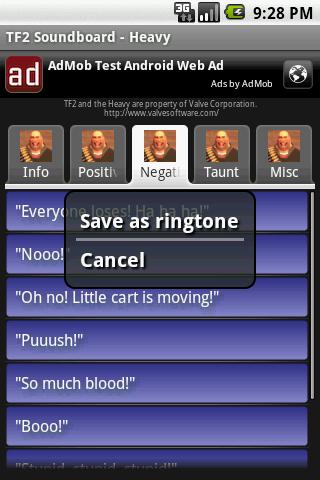 TF2 Soundboard – Heavy Android Entertainment