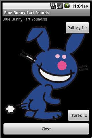 Blue Bunny Fart Sounds Android Entertainment