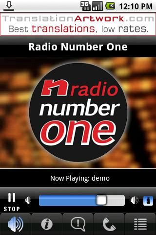 Radio Number One Android Entertainment