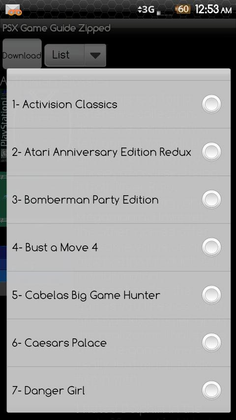 PSX Entertainment ROM Pack Zip Android Entertainment