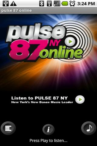 PULSE 87 NY Android Entertainment