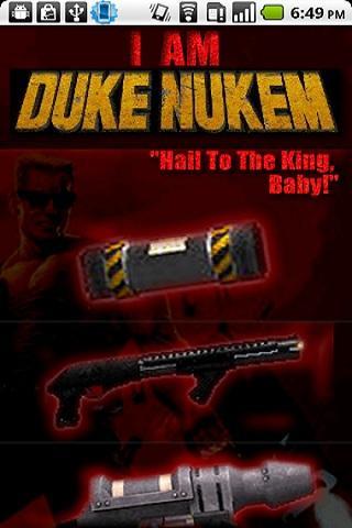 I Am Duke Nukem Android Entertainment