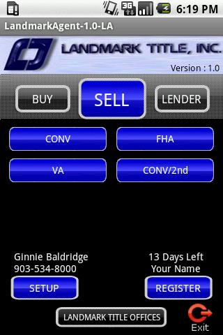 LandmarkAgent Android Finance