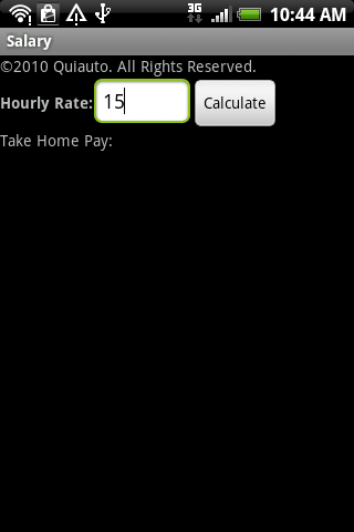 Salary Android Finance
