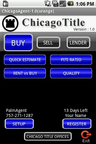 ChicagoAgent CA Android Finance