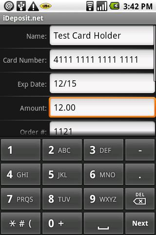 iDeposit.net Android Finance