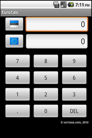EuroCalc Android Finance