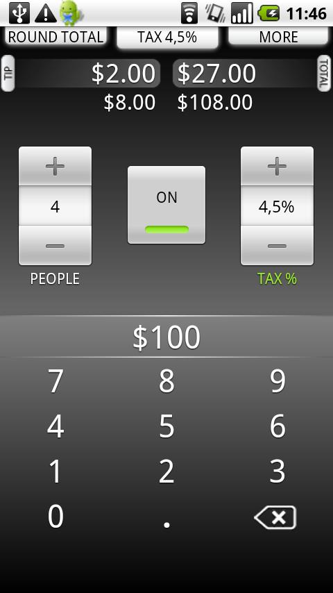 Tip Calculator Pro TradeFields Android Finance