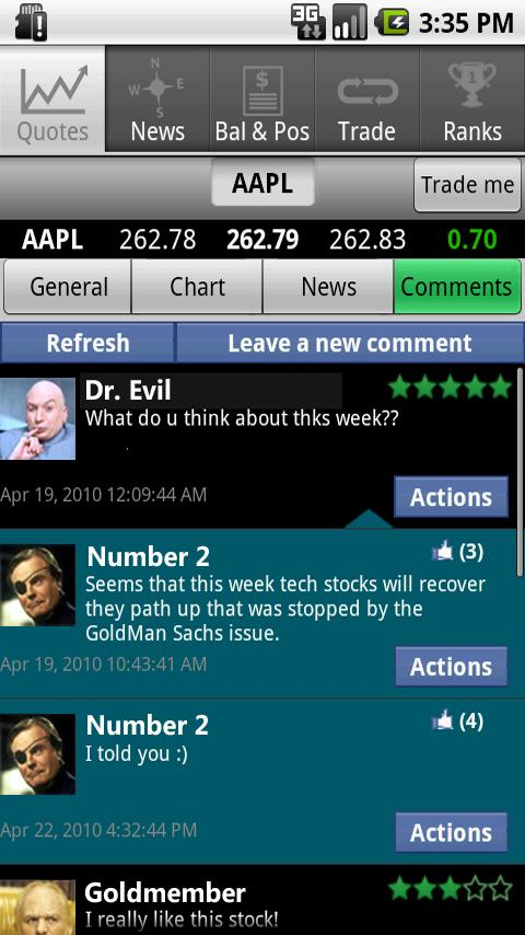 TradeFields – Stock Market Sim Android Finance