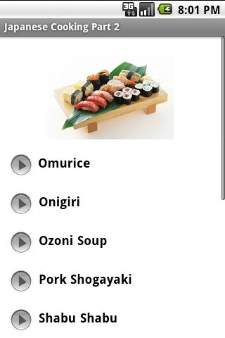 Learn To Cook Japanese Part 2 Android Lifestyle