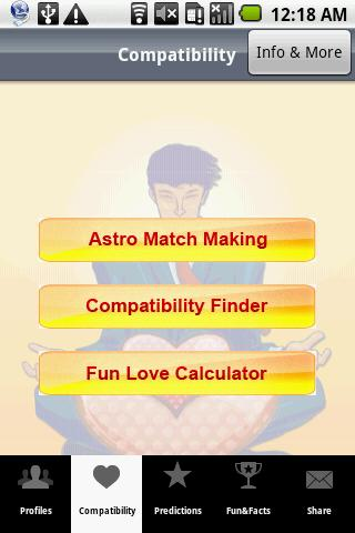 AstroMatchup MAX Android Lifestyle