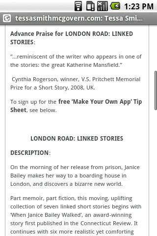 London Road: Linked Stories Android Lifestyle