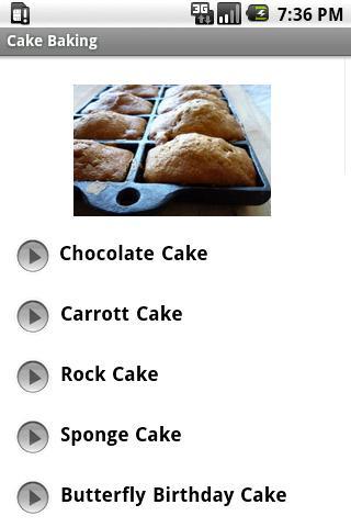 Cake Baking Android Lifestyle