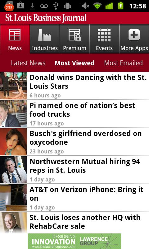St.Louis Business Journal Android Lifestyle