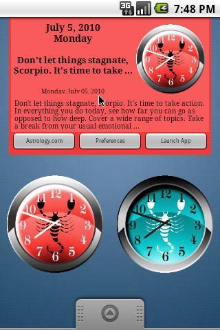 Scorpio Daily Horoscope v2 Android Lifestyle