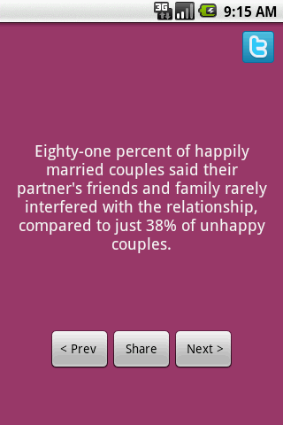 Marriage Facts Android Lifestyle