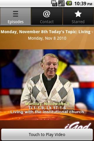 iGod Today with Father Mike Android Lifestyle