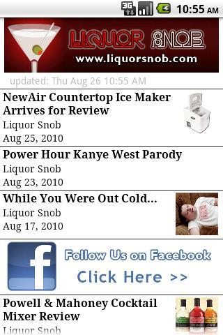Liquor Snob Android Lifestyle