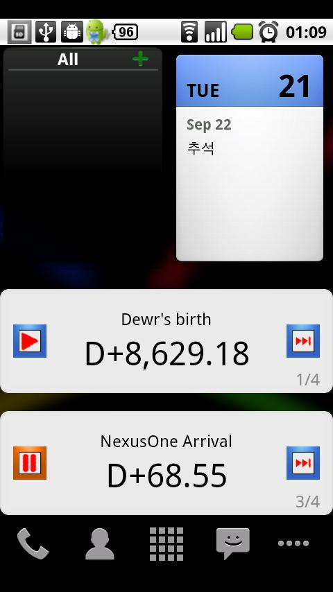 D-Day Counter 4Google Calendar Android Lifestyle