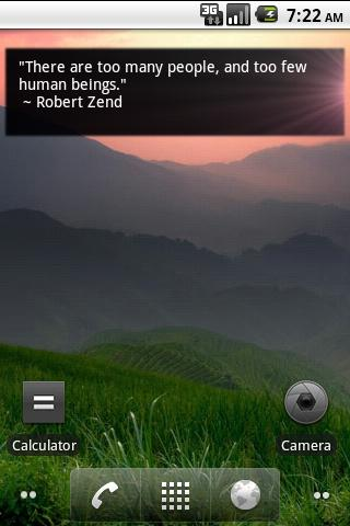 Daily Quote Widget Android Lifestyle