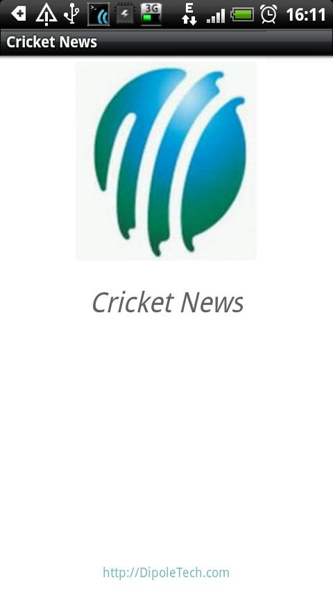 Cricket News Android News & Weather