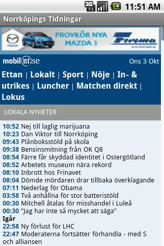 Norrköpings-Tidningar Android News & Magazines