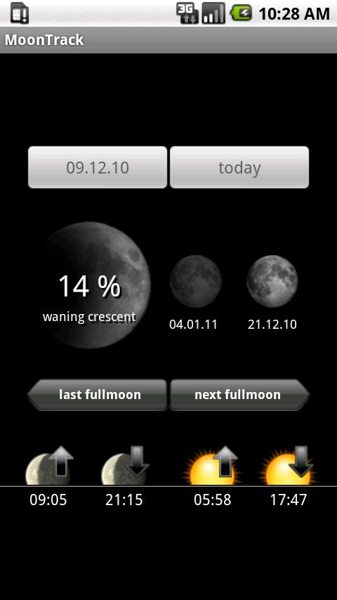 MoonTrack Android News & Weather