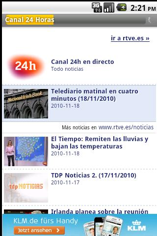 Spanish Newspapers Android News & Weather