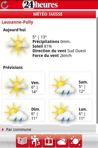 24 Heures Android News & Weather