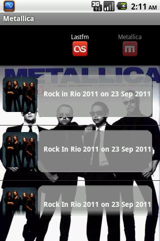 Metallica Android News & Weather