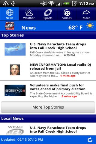 Weau 13 News Android News Weather Best Android Apps Free Download