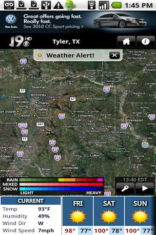KYTX Radar Android Weather