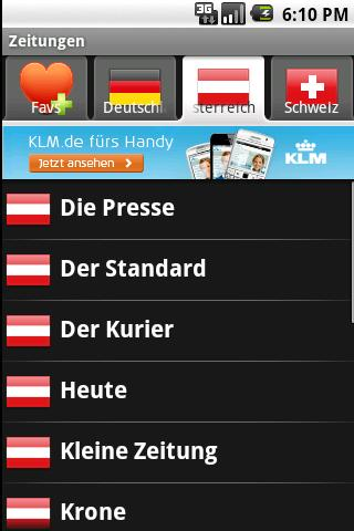Swiss News Android News & Weather