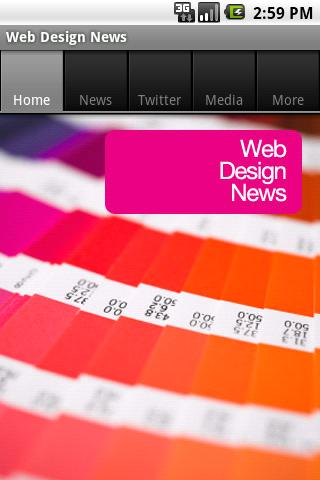 Web Design News (Free) Android News & Weather