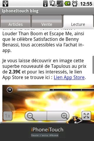 IphoneItouch Blog Android News & Weather