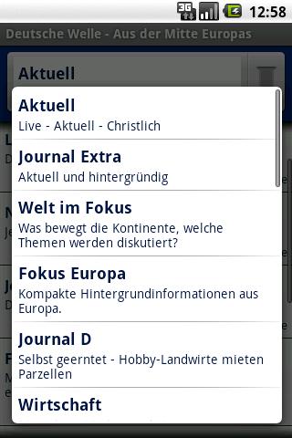 Deutsche Welle – Radio Android News & Weather