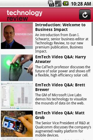 MIT Technology Review Android News & Weather
