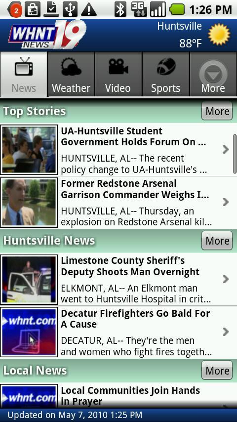 WHNT NEWS 19 Android News & Weather