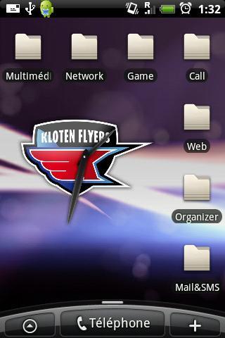 Kloten Flyers Clock Android Sports