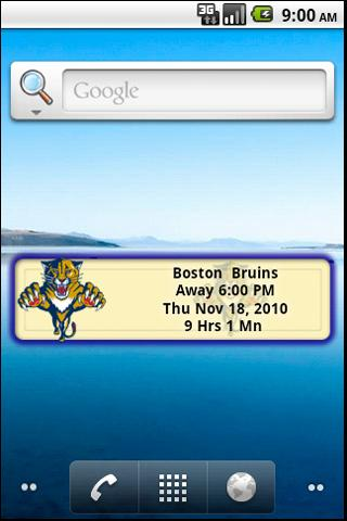 Florida Panthers Countdown Android Sports