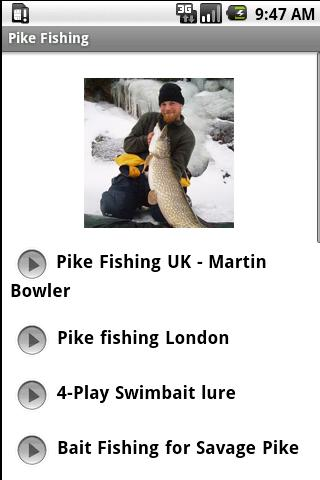 Pike Fishing Video Collection Android Sports