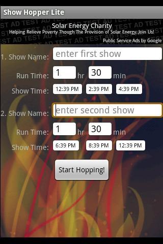 Show Hopper Lite Android Entertainment
