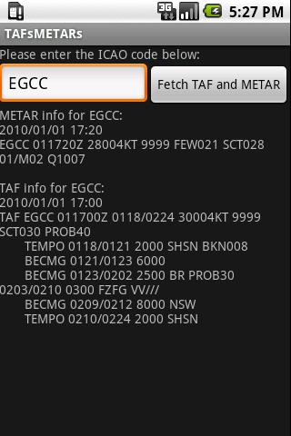 TAFs and METARs 2.2 Android News & Weather